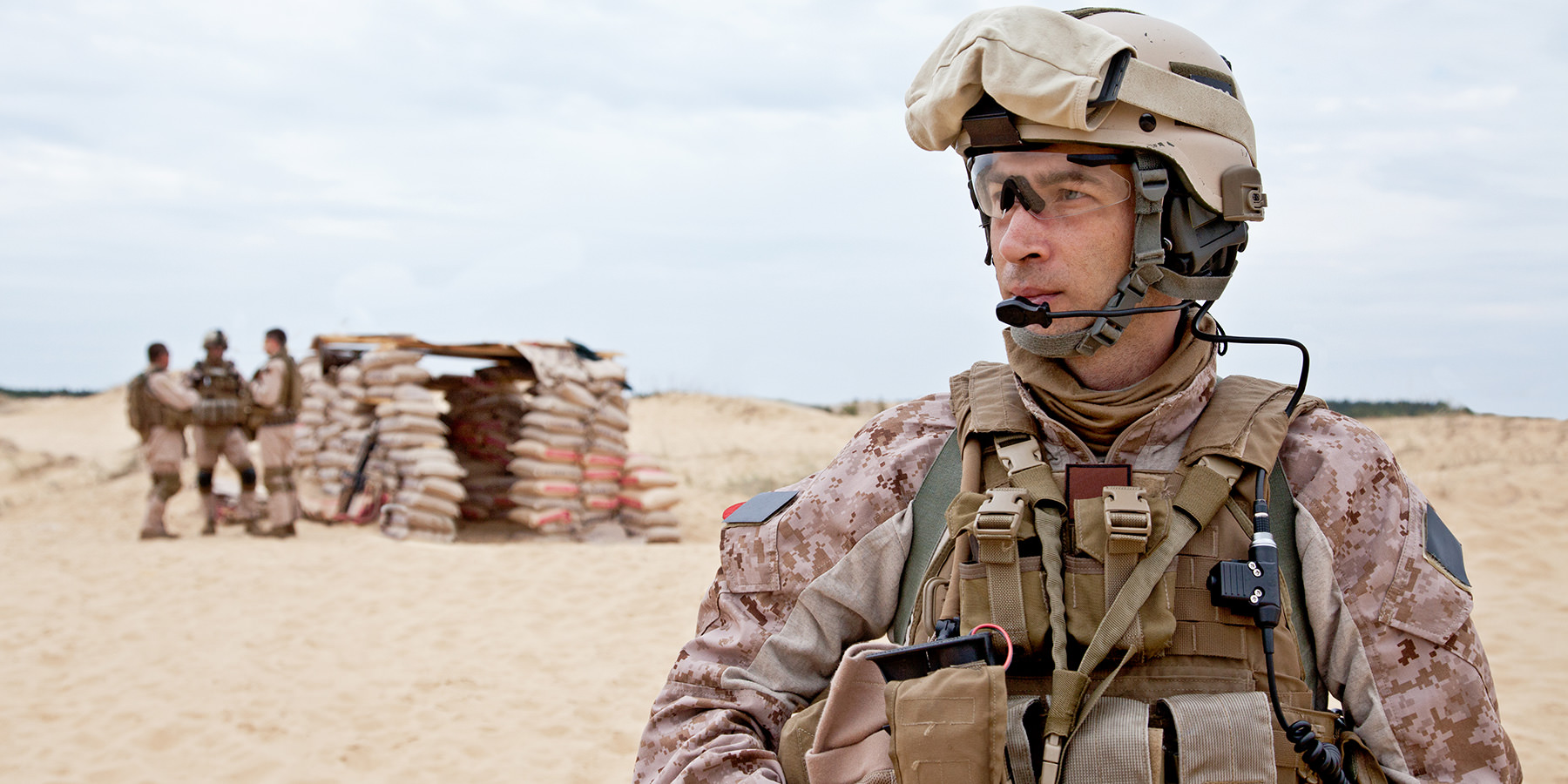 Physical exams are required before a deployment to a theater of operations.
