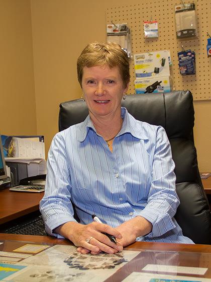 Director of Operations, Nanci Baldwin