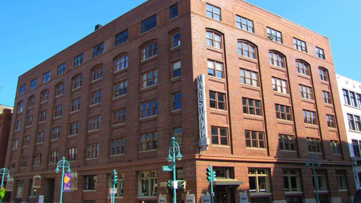 Passport Health Milwaukee Third Ward clinic building