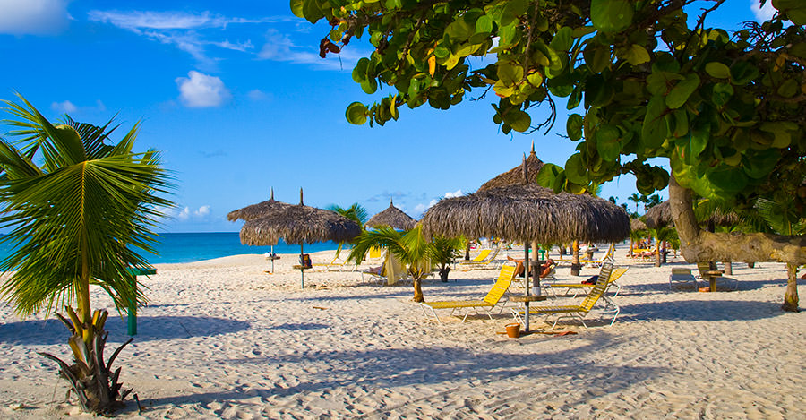 Aruba's beautiful beaches are amazing to visit. Make sure you're safe before, during and after your trip with Passport Health.
