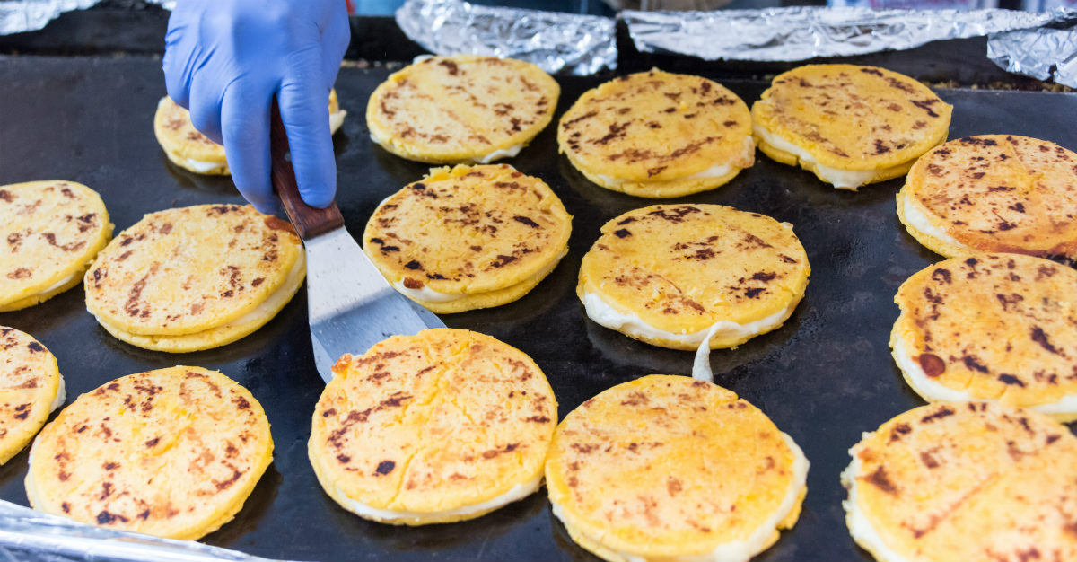 Considered a thick tortilla, the arepa is lauded for versatility in Colombian foods.