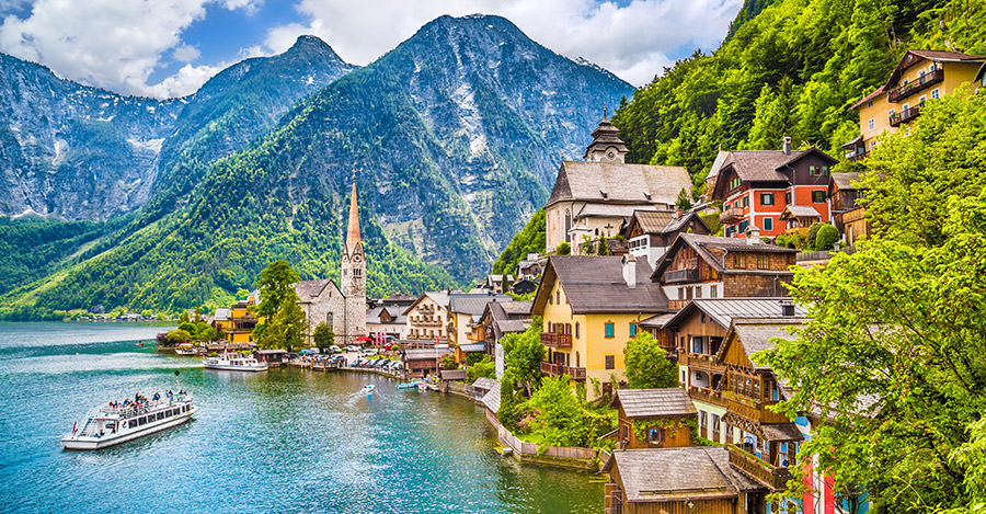 Rivers, mountains and more. Austria is one of the most beautiful destinations.