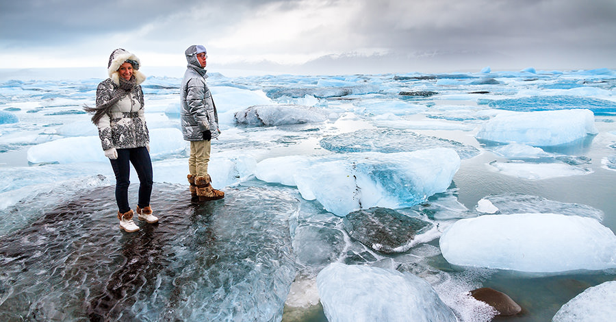 From glaciers to hot springs, Iceland is a great destination.
