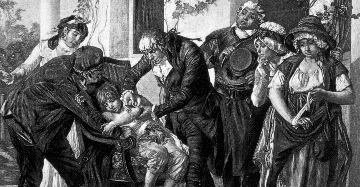 Variolation led to Edward Jenner's first vaccine for smallpox.