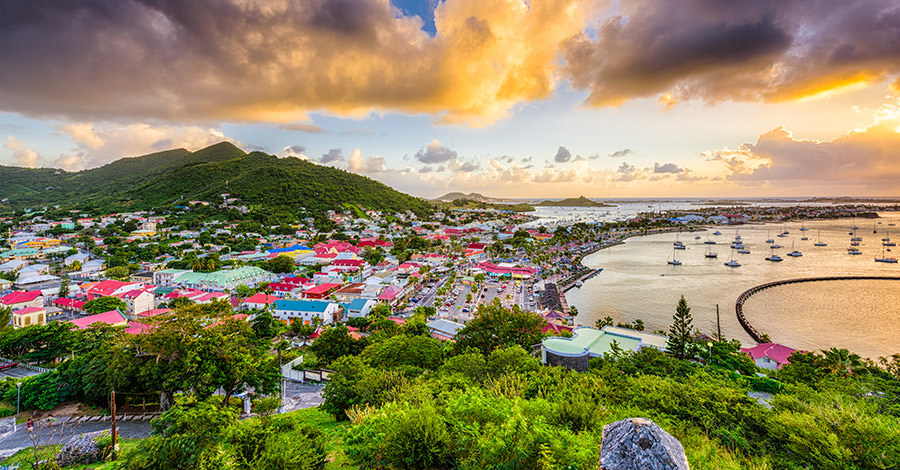 Saint Martin provides two awesome destinations in one.