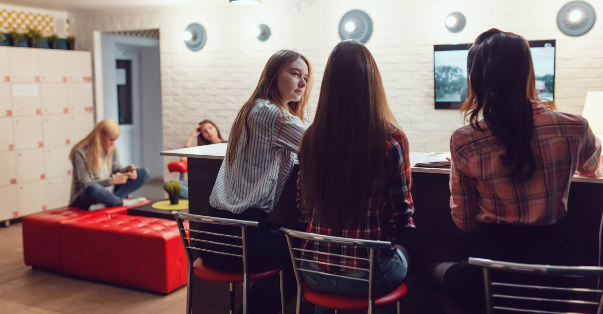 Hostels breed social activity and offer an easy chance to make new travel friends.