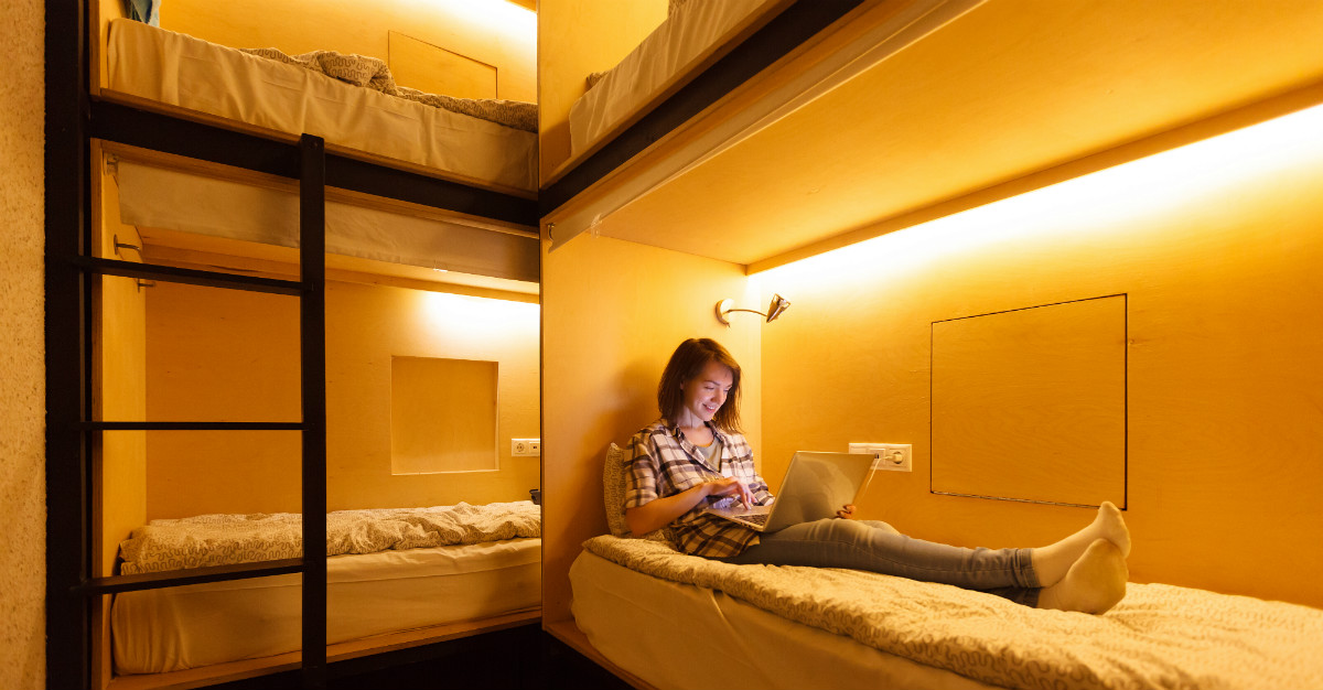 Popular for backpackers, hostels are an option for all travelers.