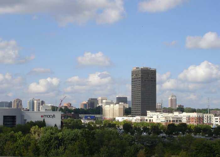 University Tower is home to St Louis Brentwood Travel Clinic