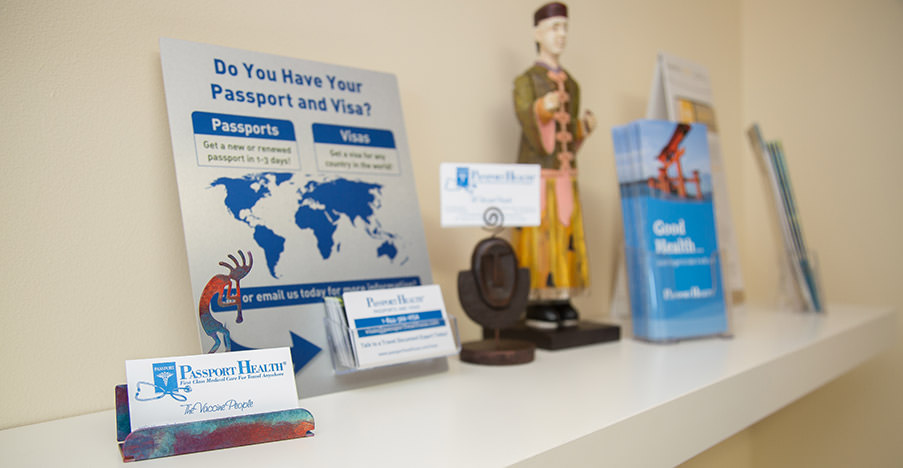 Passport Health's West Chester office is the perfect place to receive travel vaccines and advice.