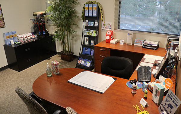 Passport Health's Centennial consult room is the perfect place to receive travel vaccines and advice.