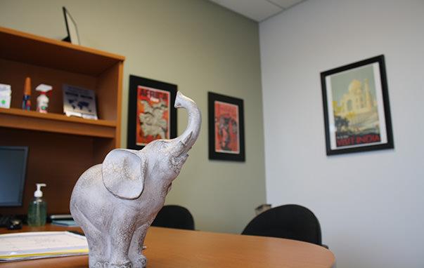 Passport Health's Colorado Springs consult room.