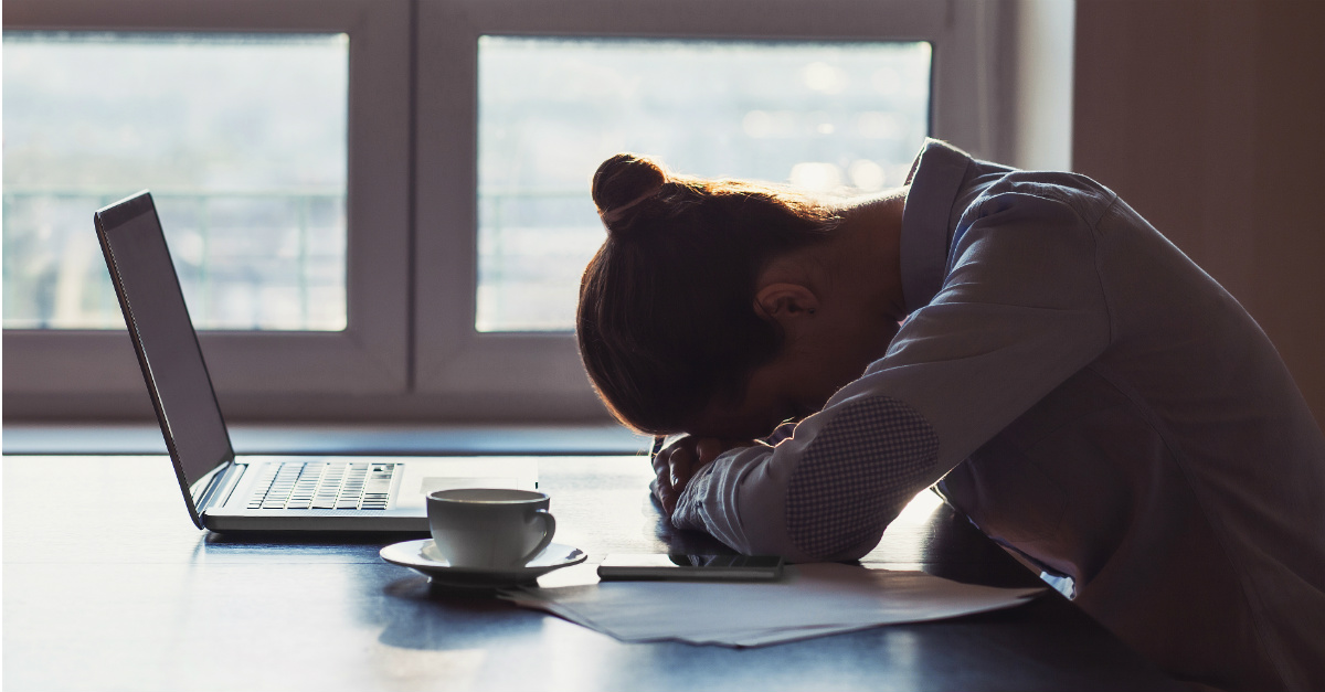 Even a bit less sleep at night can greatly reduce your abilities at work.