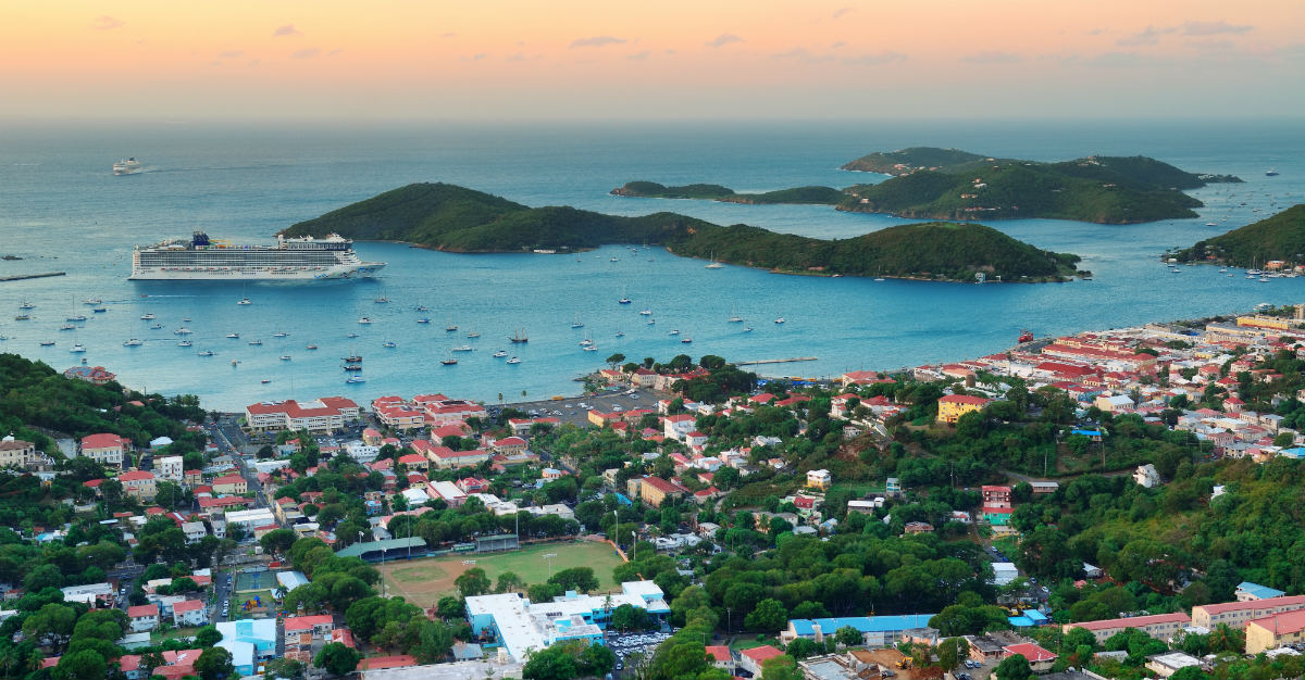 St. Thomas are a part of the U.S. Virgin Islands, open to American travelers.