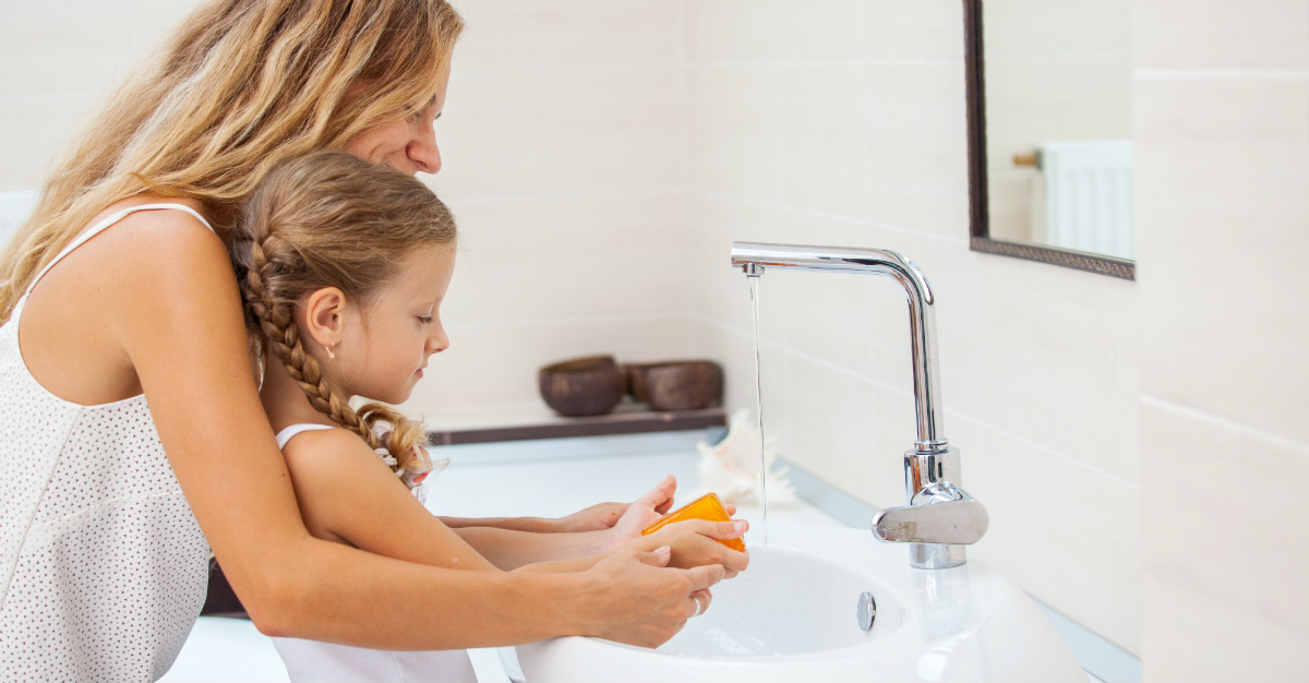 Warm water and soap might be the answer to avoid norovirus.