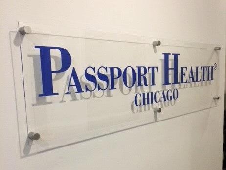 Passport Health Chicago sign