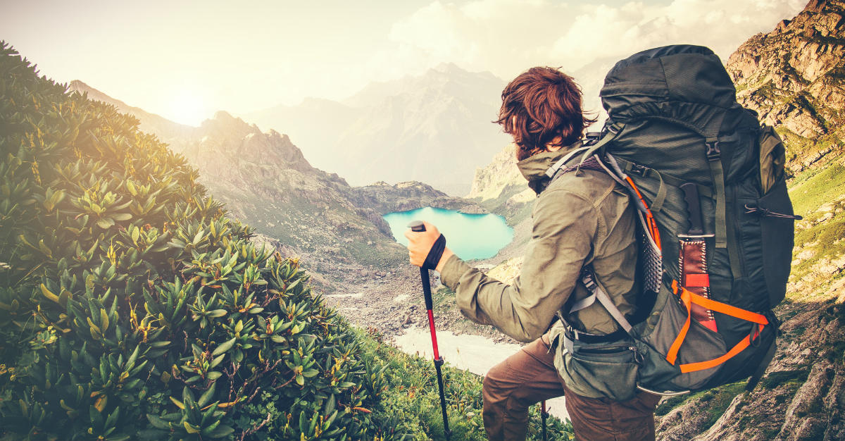 Studies show that hiking trips can help mental health.