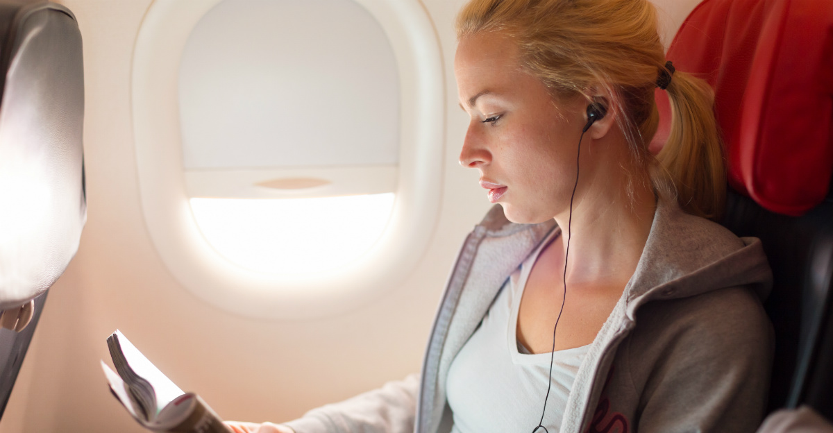 A window seat could make you far less likely to get sick on a plane.