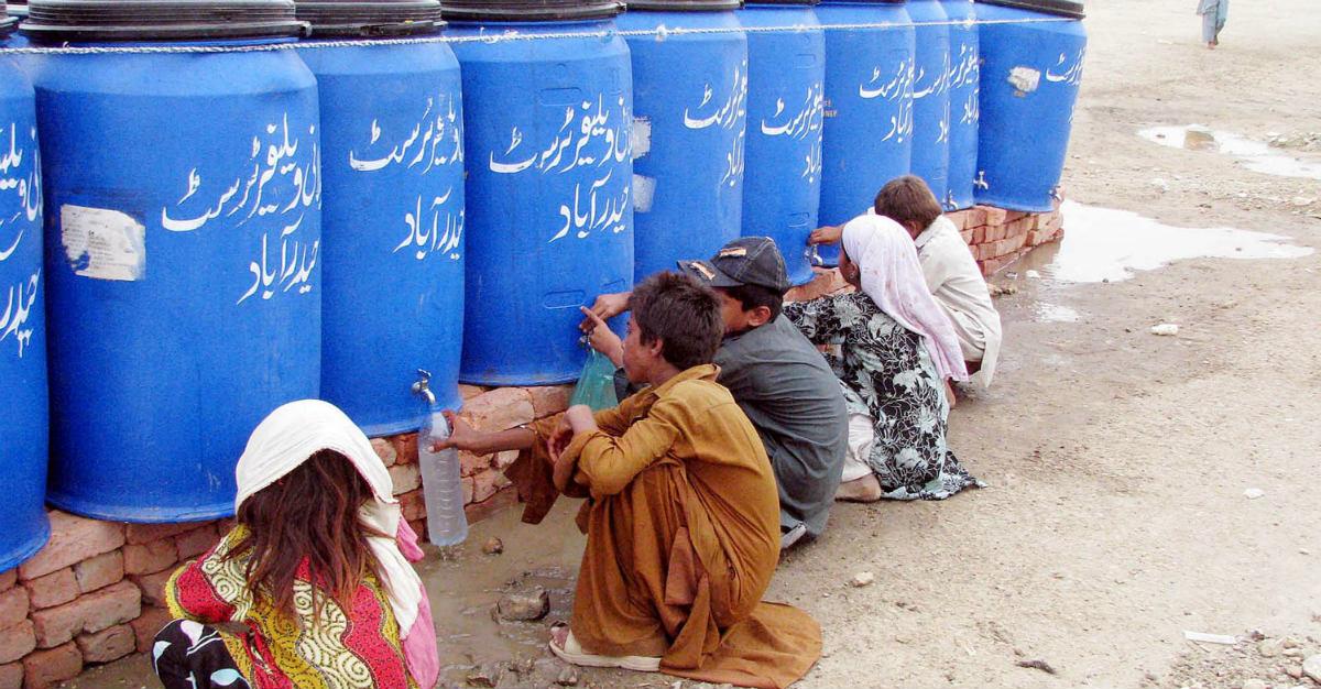 A drug-resistant strain of typhoid is spreading through Pakistan.