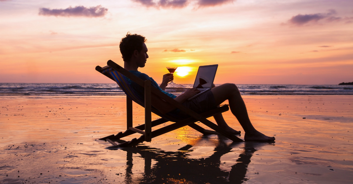 eight tips for working while on vacation