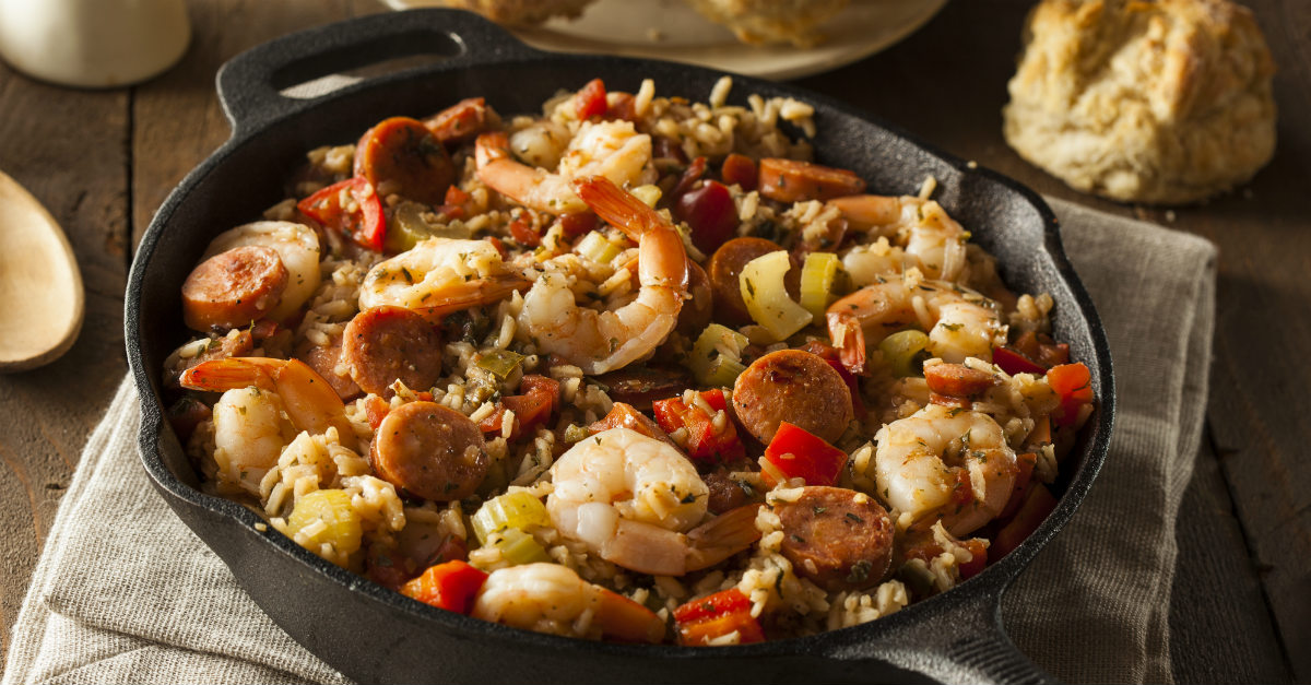 Cajun and French cuisine to make the food in New Orleans.