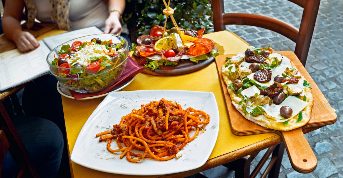 Rome's typical Italian food ranked it as the world's best food city.