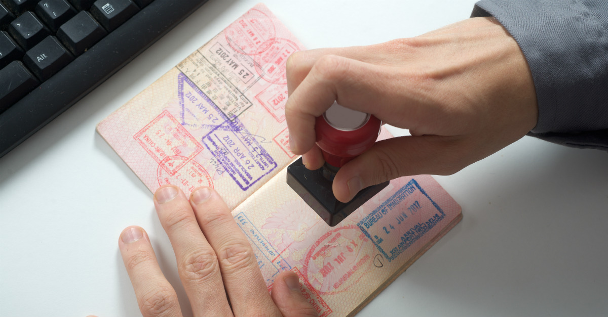 New technology could phase out the passport stamp.