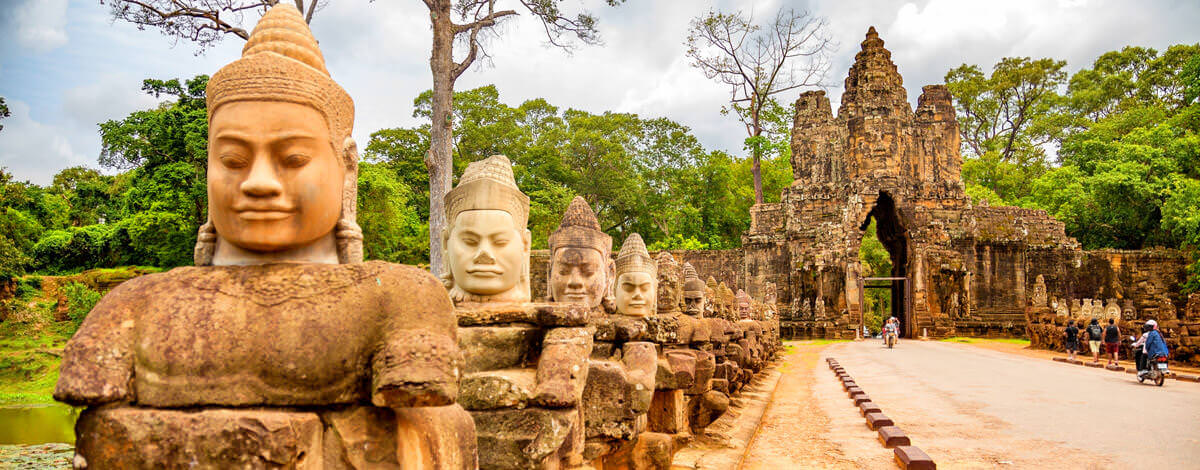 A visa is required for entry into Cambodia. Get your's today!