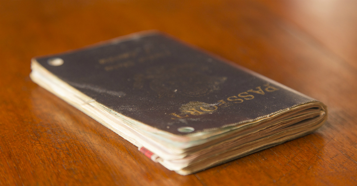 Just because it's expired, doesn't mean an old passport is useless.