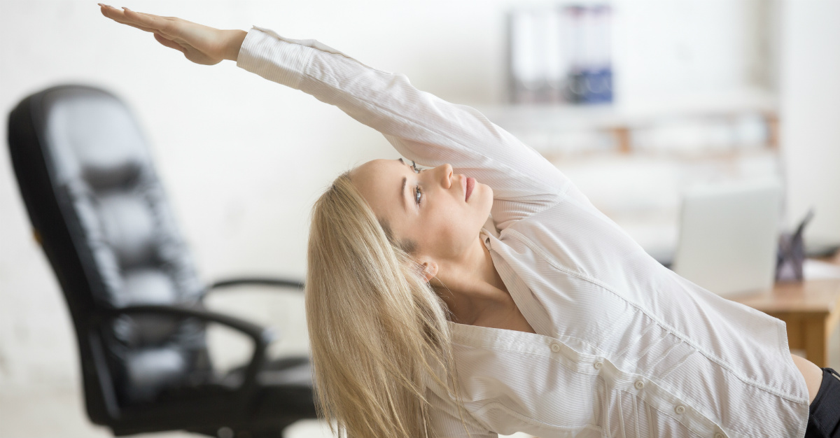 Office yoga can improve aspects across your workplace.