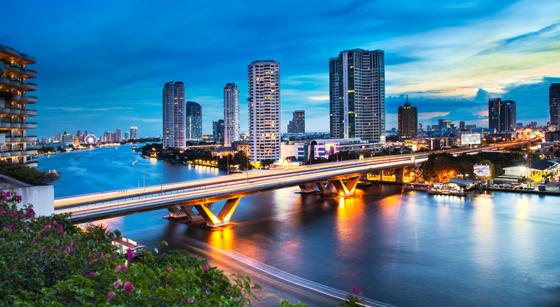 Bangkok Thailand Skyline