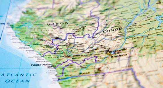 Republic of Congo Map