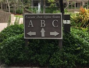 Ft Lauderdale - Emerald Hills travel clinic sign