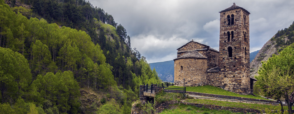 Found in the foothills of Spain, Andorra has tons of historic buildings and more.