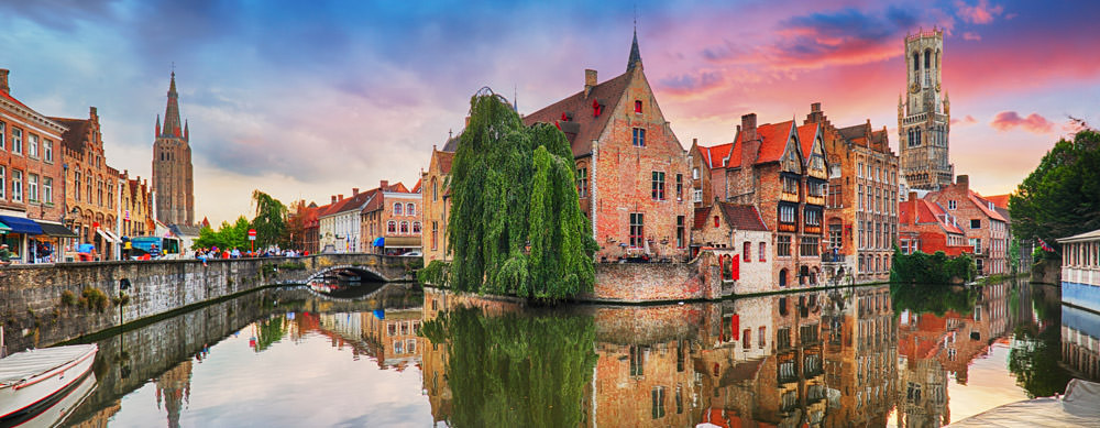 Belgium's waterways are a must-see. Find your path and peace uninterrupted with Passport Health consultation and immunization options.