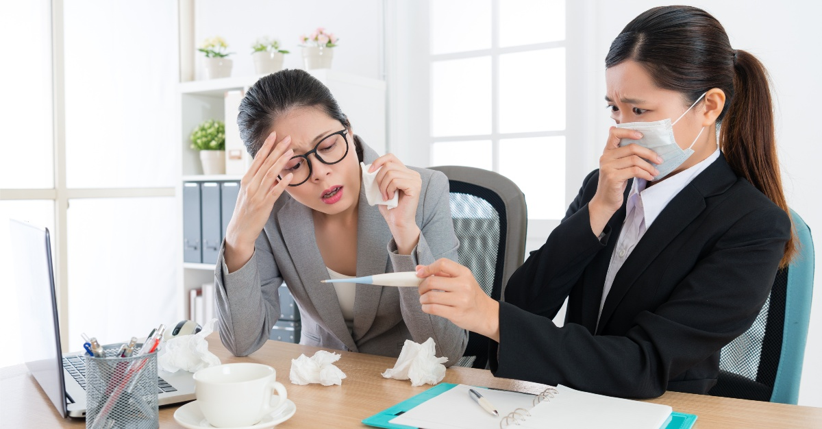 The flu may cause negative side effects that employers haven't even considered.