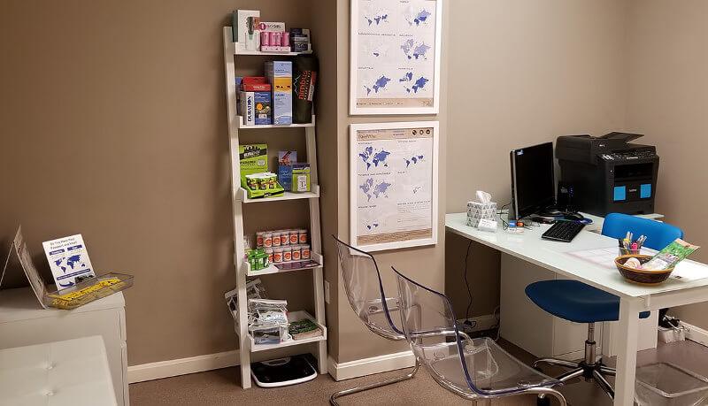 Passport Health's Centreville travel clinic provides premiere travel medicine services.