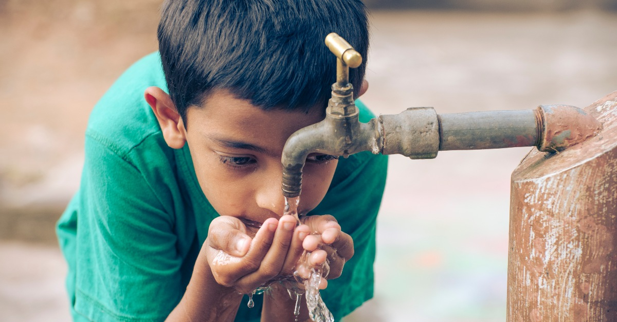 Contaminated drinking water is a major cause of deadly diarrhea.