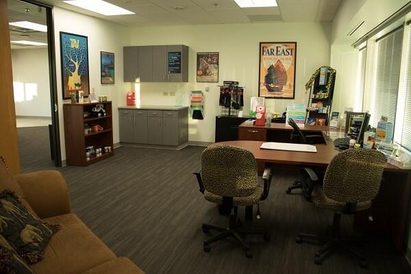 Passport Health's Greenwood Village consult room