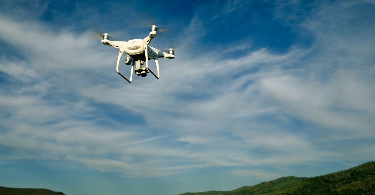 We could see drones deliver vaccines much more in rural areas.