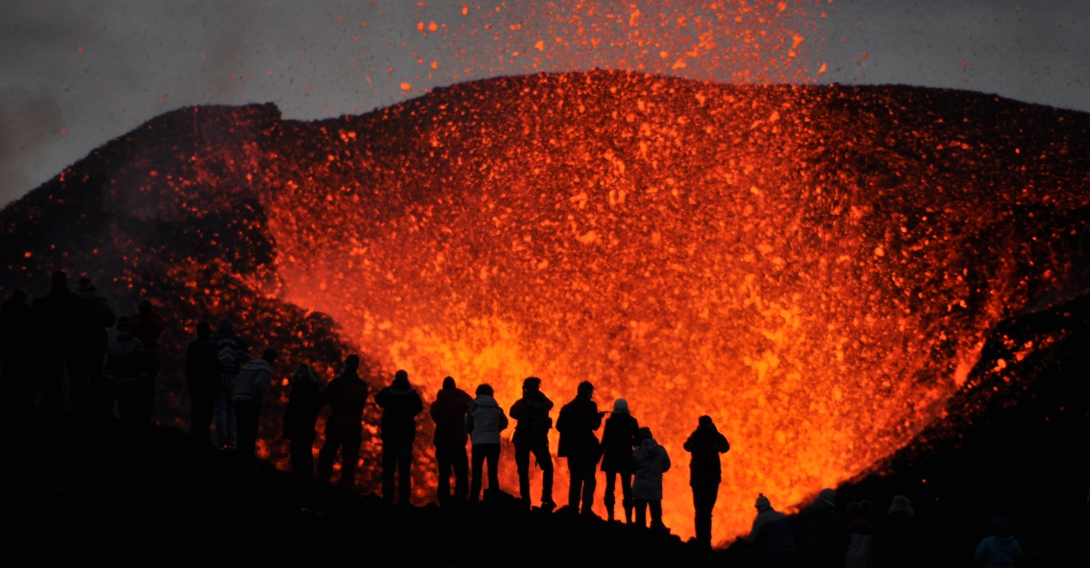 Despite the dangers, tourists are flocking to erupting volcanoes.