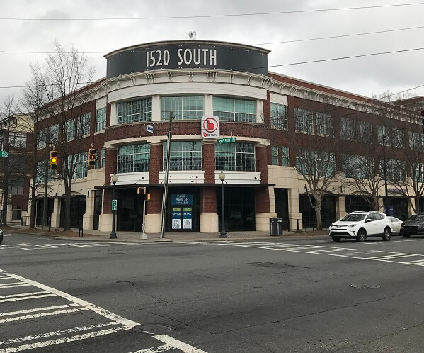 Passport Health South End Charlotte Travel Clinic Building