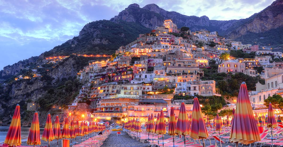 Stunning beaches and luxurious lifestyle make the Amalfi Coast perfect for slow travel.