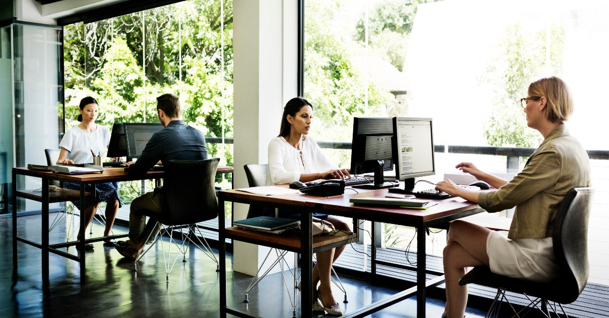 Employees are much healthier with natural light compared to light bulbs.