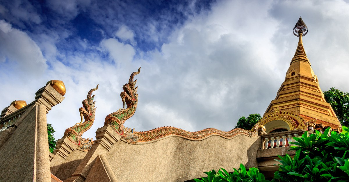 Thailand's temples encourage a meditative trip for solo travelers.