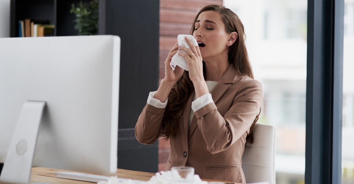 Many office conditions make them the perfect place to spread illnesses.