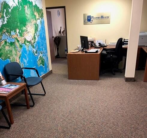 Farmington Hills Travel Clinic Interior