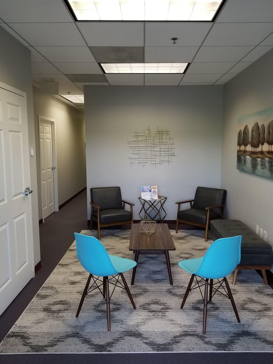 Passport Health Ashburn clinic waiting room