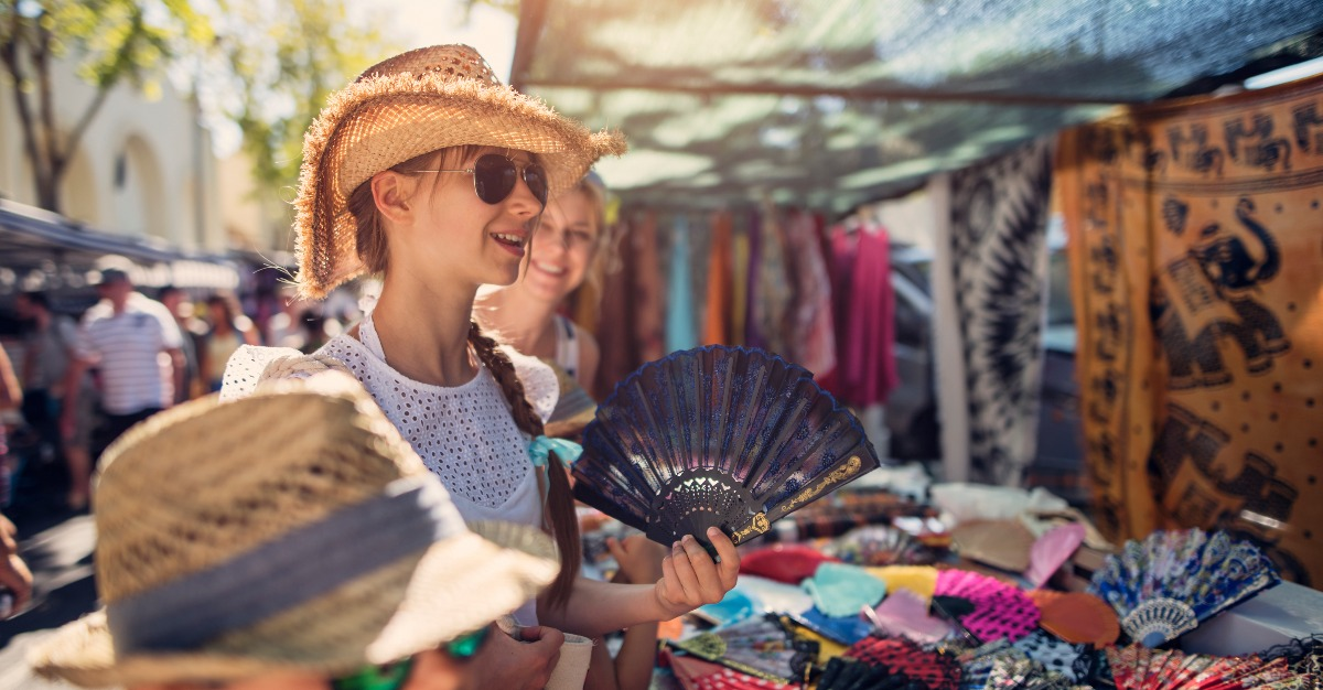 Souvenirs are a prime opportunity for locals to scam foreign travelers.