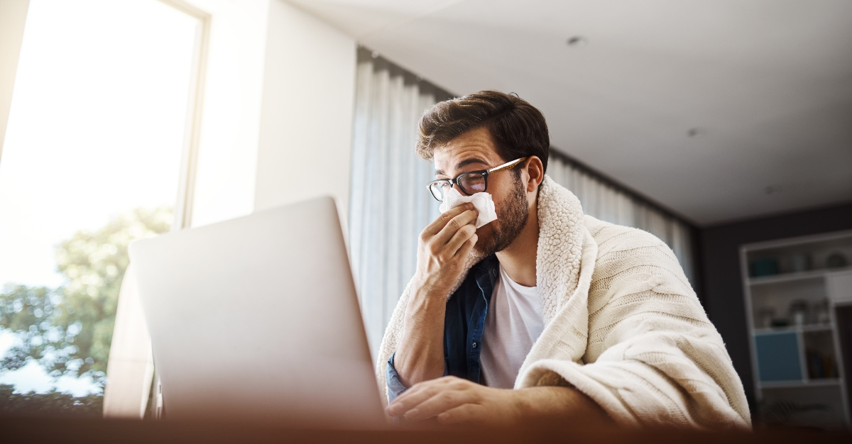 What are the options for employees when it comes to working while sick?