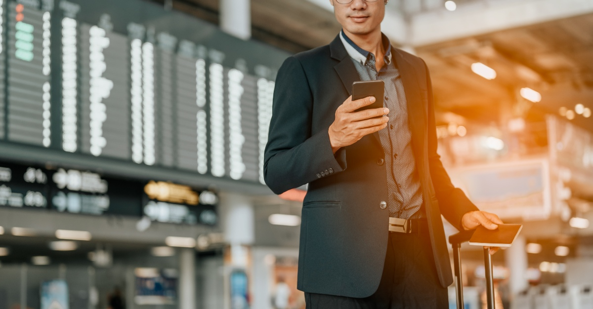 A new feature from American Airlines can save time checking passports for foreign flights.